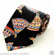New Teepees Mens Necktie Native American Indian Tipi Tee Tent History Neck Tie