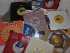 Lot of 63 VG+ 45 records Mixed Genre Rock Pop Artist Listed '60s '70s