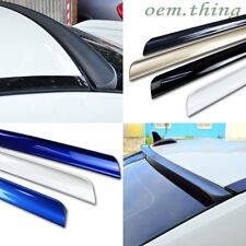 Painted For Altima L33 Rear Roof Lip Spoiler Wing 4D Sedan 2013up PUF For Nissan