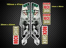 Rock Shox Sektor  Style Suspension Fork Decal/Stickers rxx71