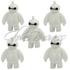 5PCS 36.5x27mm Cute Big Hero Baymax Decoration Resin Pendant For Kids Necklace