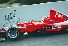"Mitch Evans firmado, GP3 campeón 2012 con MW Arden, ""Mark Webber protege"""