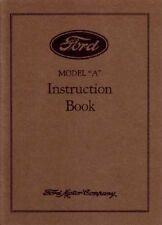 1930 Ford Model A Car Instruction Manual Owners Manual User Guide Reference Book