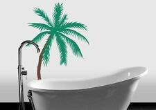 "Palm Tree Vinyl Wall Decal Sticker Two Color 33""h x 22""w"