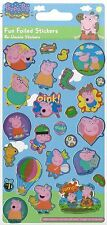 Over 25 Peppa Pig George Pig Mummy Pig and Daddy Pig Stickers