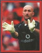 FUTERA-MANCHESTER UNITED-EUROPE-2001- #025-FABIEN BARTHEZ IN WHITE GLOVES