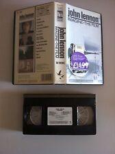 JOHN LENNON - IMAGINE THE FILM - VHS - 1972 COLECCIONISTA!  RARE