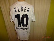 """Borussia Mönchengladbach Lotto Trikot 2005/06 """"KYOCERA"""" + Nr.10 Elber Gr.M- L"""