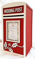 Large Wedding Card Post Box - Fully Assembled - 'Festive/Winter/Christmas Theme'