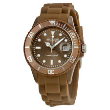 Madison Candy Time XL Chocolate Polycarbonate Unisex Watch U4167-19-1