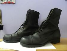 IDF ISRAELI ISRAEL ARMY BLACK BOOTS  45 /11.5 SOLDIER  JEWISH Leather SHOE