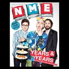 YEARS & YEARS Olly Alexander PJ Harvey Michael Shannon NME MAGAZINE April 2016