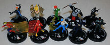 Heroclix Flash Complete 10 Figure Gravity Feed GF Counter Top CTD Set 201-210