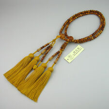 Fragrant sandalwood buddhist juzu prayer beads,Hokke nichiren nenju&gold tassels