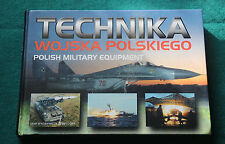 POLISH MILITARY EQUIPMENT POLAND ARMY FORCES BOOK ALBUM with MANY OF PHOTOGRAPHY