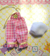 Kelly Krissy Friends Baby No Clothes *Krissy Pink White Checkered Jumper Panty*