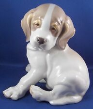Nymphenburg Porcelain Saint Bernard Dog Figure Figurine Porzellan Hund Figur