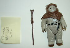 Vintage Kenner Star Wars ROTJ Chief Chirpa Ewok w staff  HK bar      116