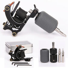 Tattoo Coils Machine Selflock Grip Silicone Cover Tips Tattoo Kit For Shader