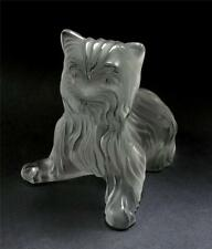 LALIQUE FROSTED CRYSTAL SUPERBOY YORKSHIRE TERRIER DOG FIGURINE PAPERWEIGHT