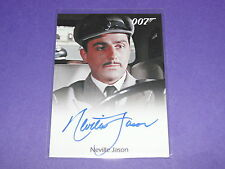 2012 James Bond 50th NEVILLE JASON Autograph FROM RUSSIA WITH LOVE - DOCTOR WHO
