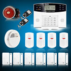 Wireless LCD GSM Home Security Burglar House Fire Alarm System Auto dialer PG500