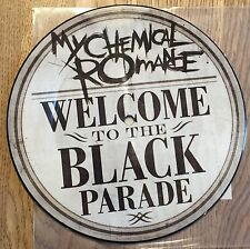 "MY CHEMICAL ROMANCE - Welcome To The Black Parade I 7"" PICTURE VINYL Gerard Way"