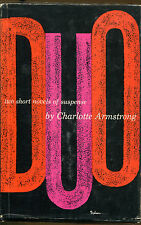 Duo by Charlotte Armstrong-1st Ed./DJ-1959-Two Short Novels
