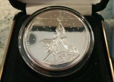 RARE STAR WARS 15th Anniversary 1oz .999 silver coin. Pictures Carrie Fisher