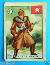 figurines cromos figurine v.a.v. vav la guerra nostra 41 russia fanteria russie