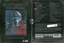 RARE / IRON MAIDEN : VISIONS OF THE BEAST / 2 DVD - NEUF EMBALLE NEW & SEALED