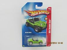 Hot Wheels 2008 MEYERS MANX WEB TRADING CARS METAL BASE GREEN BB-OE