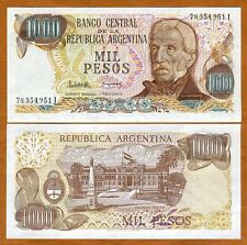 Argentina, 1000 Pesos, ND (1976), Pick 304, UNC