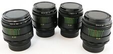 *SERVICED* LOT 4 x HELIOS 44-2 2/58 Russian Soviet USSR Lens M42 Canon Sony α A