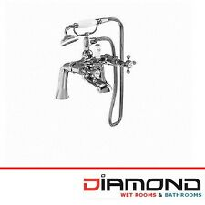 Burlington Stafford Traditional Angled Bath Shower Mixer Tap STA14 Bathroom New