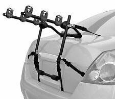 3-Bicycle Trunk-Mount Portable Bike Carrier Rack Hatchback SUV or Car Sport