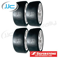 4 x Silverstone FTZ  19/58/15 Slick Race/ Track Tyres - Hard T8 Compound 195815