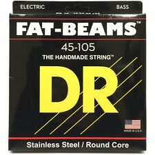 DR FB-45 Fat Beams Marcus Miller MM45 Replacement Medium Bass Strings (45-105)