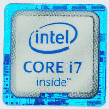 INTEL CORE i7 STICKER LOGO AUFKLEBER 18x18mm (438)