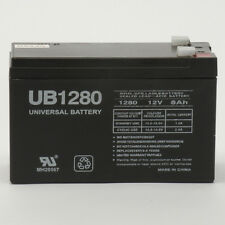 UPG 12V 8Ah F2 UPS Battery Replacement for APC Back-UPS ES BE550G