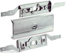 B&D Garage ROLLER DOOR LOCK Set Complete + Faceplate + Keys