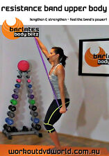 Toning EXERCISE DVD - Barlates Body Blitz - UPPER BODY RESISTANCE BAND WORKOUT!