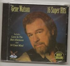 "GENE WATSON, CD ""16 SUPER HITS"" NEW SEALED"