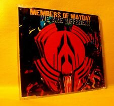 MAXI Single CD Members Of Mayday We Are Different 3TR 1994 Hard Trance, Acid