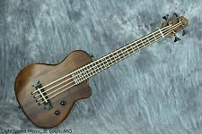 Gold Tone ME-Bass Fretted Solid-Body Micro Bass w/ Mahogany Body & Gig Bag