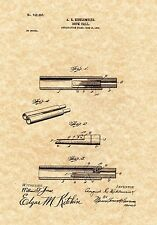 Patent Print - Antique Duck Call 1903 Hunting Art. Ready To Be Framed!