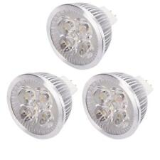 3x Spotlight Bulb New LED MR16 Warm White Light Lamp Energy Saving 4W 12V 3000K