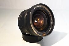 RARE CARL ZEISS DISTAGON ROLLEI 18mm f 4 LENS. PERFECT CONDITION. + SONY ADAPTER