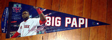 BOSTON RED SOX BIG PAPI DAVID ORTIZ FINAL SEASON 12X30 INCH PENNANT