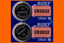 2 x Sony cr2032 battery 3V Lithium Battery Super Fresh Expire 2025